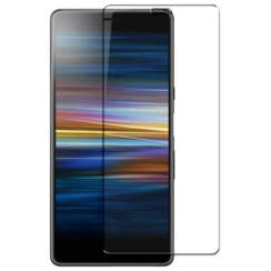 Sony Xperia 10 - Tempered Glass Screenprotector - Case-Friendly