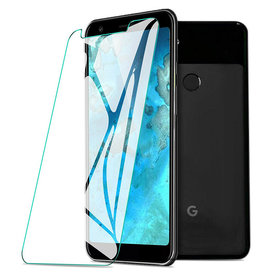 Glass Pro+ Google Pixel 3a - Tempered Glass Screenprotector - Case-Friendly