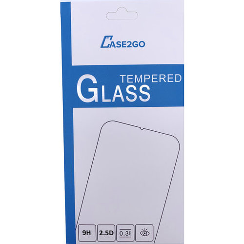 Case2go Asus Zenfone Max (M2) ZB633KL - Tempered Glass Screenprotector - Case-Friendly