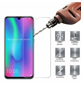 Glass Pro+ Huawei P Smart Plus 2019 - Tempered Glass Screenprotector - Case-Friendly