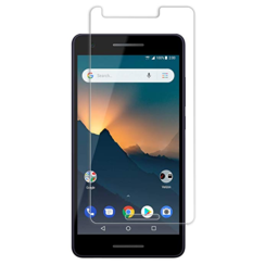 Nokia 2.1 - Tempered Glass Screenprotector - Case-Friendly