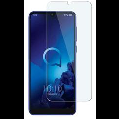 Alcatel 3L (2019) - Tempered Glass Screenprotector - Case-Friendly