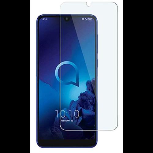 Case2go Alcatel 3L (2019) - Tempered Glass Screenprotector - Case-Friendly