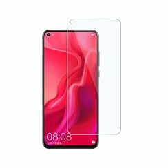 Huawei P20 Lite (2019) - Tempered Glass Screenprotector - Case Friendly