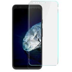 Google Pixel 4 - Tempered Glass Screenprotector - Case Friendly