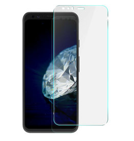 Case2go Google Pixel 4 XL - Tempered Glass Screenprotector - Case Friendly