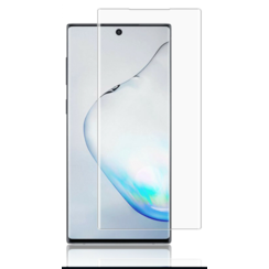 Samsung Galaxy Note 10+ - Tempered Glass Screenprotector - Case Friendly