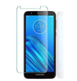 Glass Pro+ Motorola Moto E6 - Tempered Glass Screenprotector - Case Friendly