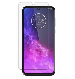 Glass Pro+ Motorola One Zoom - Tempered Glass Screenprotector - Case Friendly