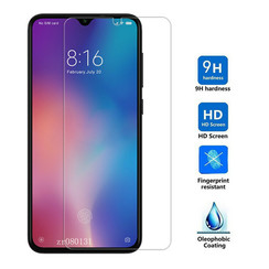 Xiaomi Mi 9 Lite - Tempered Glass Screenprotector - Case Friendly