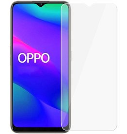 Case2go Oppo A5 (2020) - Tempered Glass Screenprotector - Case Friendly