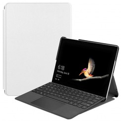 Microsoft Surface Go (1 & 2) Tri-Fold Book Case Wit