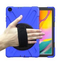 Huismerk Samsung Galaxy Tab A 10.5 Hand Strap Armor Case - Copy - Copy