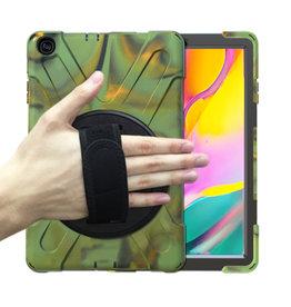 Huismerk Samsung Galaxy Tab A 10.5 Hand Strap Armor Case - Copy - Copy - Copy