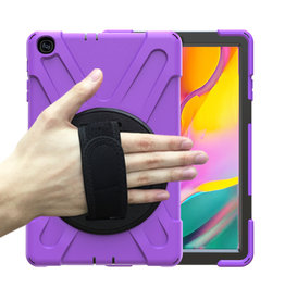 Huismerk Samsung Galaxy Tab A 10.5 Hand Strap Armor Case - Copy - Copy - Copy - Copy - Copy - Copy