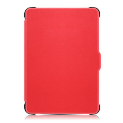 Kobo Clara HD hoes - Tri-Fold Book Case - Rood