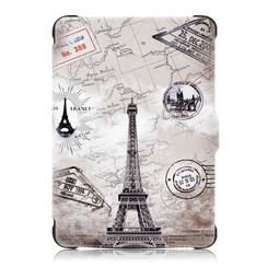 Kobo Clara HD hoes - Tri-Fold Book Case - Eiffeltoren