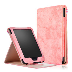 Kobo Clara HD hoes - Wallet Book Case - Roze