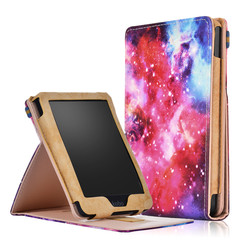 Kobo Clara HD hoes - Wallet Book Case - Galaxy