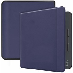 Kobo Forma hoes - Flip Cover Book Case - Donker Blauw