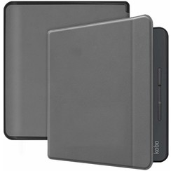 Kobo Forma hoes - Flip Cover Book Case - Grijs