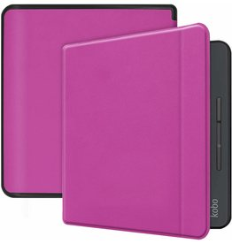 Case2go Kobo Forma hoes - Flip Cover Book Case - Paars