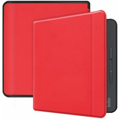 Kobo Forma hoes - Flip Cover Book Case - Rood