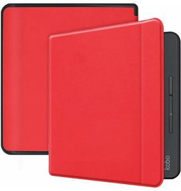 Case2go Kobo Forma hoes - Flip Cover Book Case - Rood