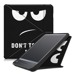 Kobo Libra H2O hoesje - Tri-Fold Book Case - Don't Touch Me