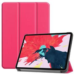iPad Pro 11 (2020) hoes - Tri-Fold Book Case - Magenta