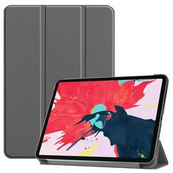 iPad Pro 11 (2020) hoes - Tri-Fold Book Case - Grijs