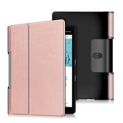 Lenovo Yoga Smart Tab 10.1 hoes - Tri-Fold Book Case - Rosé Goud