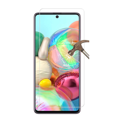 Samsung Galaxy A71 - Tempered Glass Screenprotector - Case Friendly