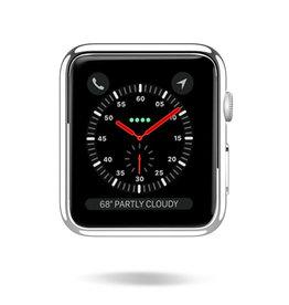 Dux Ducis Dux Ducis - Apple Watch Series 1/2/3 case - 38 mm - Cover - Silver / Transparant (2-Pack)