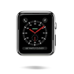 Dux Ducis - Apple Watch Series 1/2/3 hoesje - 38 mm Beschermende Cover - Zwart / Transparant (2-Pack)