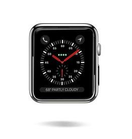 Dux Ducis Dux Ducis - Apple Watch Series 1/2/3 Case - 42 MM -Stijlvolle Cover - Black / Transparant (2-Pack)