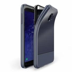 Dux Ducis Mojo - Samsung Galaxy J4 (2018) - Blauw