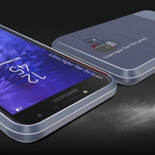 Dux Ducis Dux Ducis Mojo - Samsung Galaxy J4 (2018) - Blauw