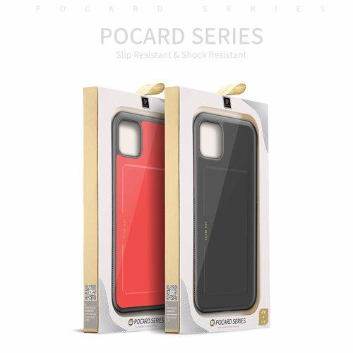 Dux Ducis Dux Ducis Pocard - iPhone 11 Pro - Zwart