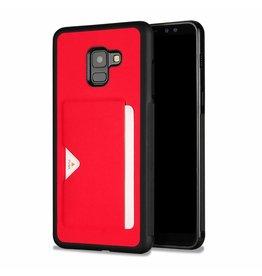 Dux Ducis Dux Ducis Pocard - Samsung Galaxy A8 Plus (2018) - Red