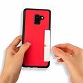 Dux Ducis Dux Ducis Pocard - Samsung Galaxy A8 Plus (2018) - Rood
