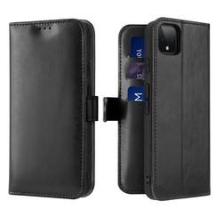 Google Pixel 4 XL case - Dux Ducis Kado Wallet Case - Black