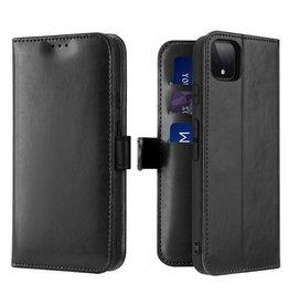 Dux Ducis Google Pixel 4 XL case - Dux Ducis Kado Wallet Case - Black