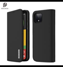 Dux Ducis Google Pixel 4 XL case - Dux Ducis Wish Wallet Book Case - Black
