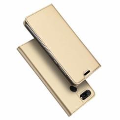 Honor 10 Lite case - Dux Ducis Skin Pro Book Case - Gold