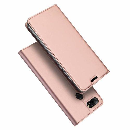 Dux Ducis Honor 10 Lite hoesje - Dux Ducis Skin Pro Book Case - Roze
