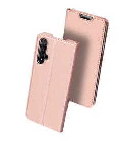 Dux Ducis Honor 20 case - Dux Ducis Skin Pro Book Case - Rosé-Gold