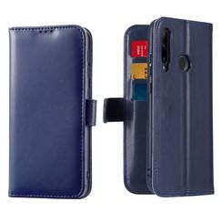 Honor 20 Lite / Huawei P Smart Plus (2019) case - Dux Ducis Kado Wallet Case - Blue
