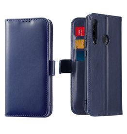Dux Ducis Honor 20 Lite / Huawei P Smart Plus (2019) case - Dux Ducis Kado Wallet Case - Blue
