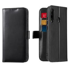 Honor 20 Lite / Huawei P Smart Plus (2019) case - Dux Ducis Kado Wallet Case - Black